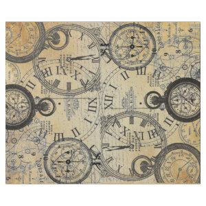 Tick Tock 60lb Decoupage Poster Wrapping Paper
