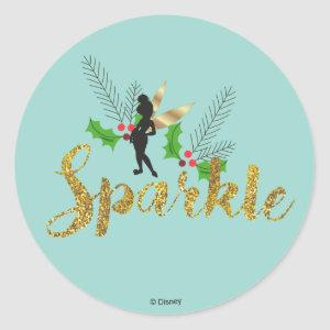 Tinker Bell | Tinker Bell Christmas Sparkle Classic Round Sticker