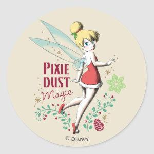 Tinker Bell | Vintage Pixie Dust Magic Classic Round Sticker