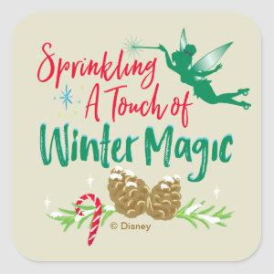 Tinker Bell | Winter Magic Square Sticker