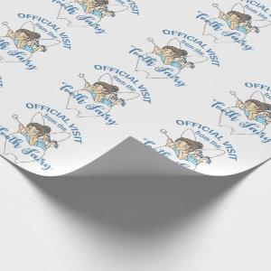 Tooth Fairy Visit Wrapping Paper