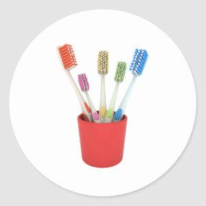 Toothbrushes Stickers