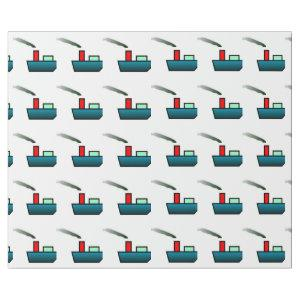 Toy Boat Wrapping Paper