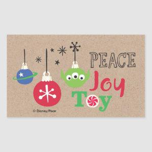 Toy Story | Peace Joy Toy Rectangular Sticker