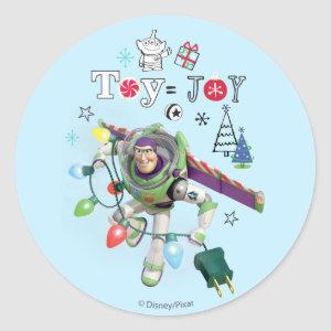 Toy Story | Toy = Joy Classic Round Sticker