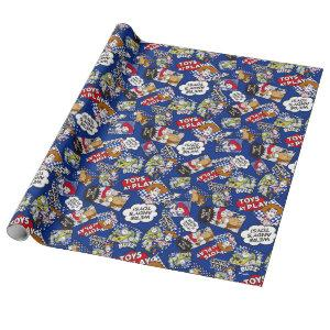 Toy Story | Toys at Play Comic Pattern Wrapping Paper