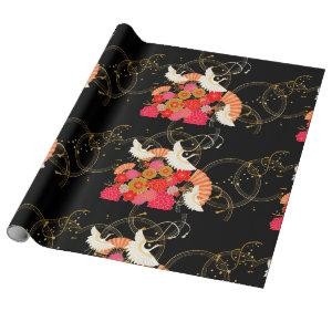 traditional Japanese pattern Wrapping Paper