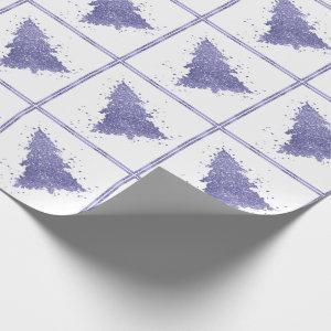 Tree Charm Holiday | Lavender Purple Lilac Pastel Wrapping Paper