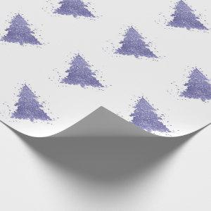 Tree Charm | Lavender Purple Lilac Christmas Wrapping Paper