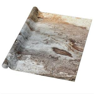 Tree Wood Bark Wrapping Paper