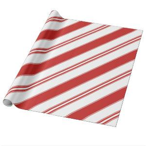 Trendy Christmas Candy Cane Stripes