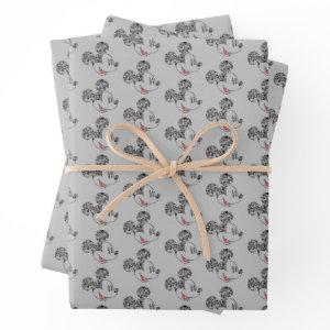 Trendy Mickey | Icons & Phrases Wrapping Paper Sheets
