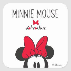 Trendy Minnie | Dot Couture Square Sticker