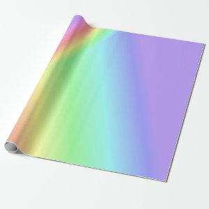 Triangle Rainbow Wrapping Paper