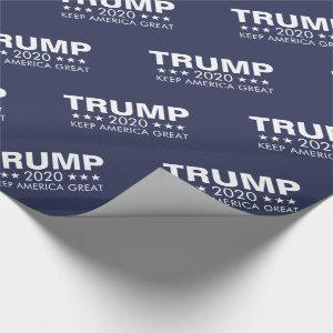Trump 2020 Keep America Great Wrapping Paper