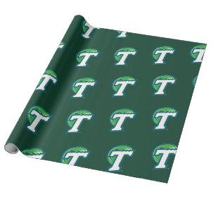 Tulane T Wrapping Paper