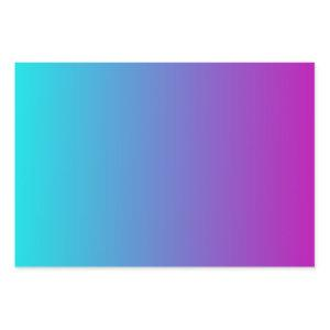 Turquoise Blue Purple Gradient Wrapping Paper Sheets