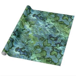 Turquoise Malachite Wrapping Paper
