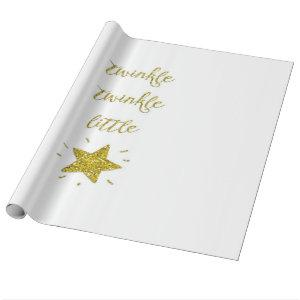Twinkle Wrapping Paper