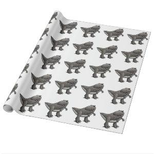 Tyrannosaurus Rex Wrapping Paper