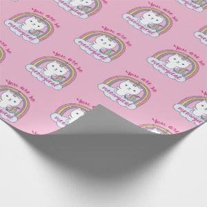 Unicorn Caticorn You are So Meowgical   Wrapping Paper
