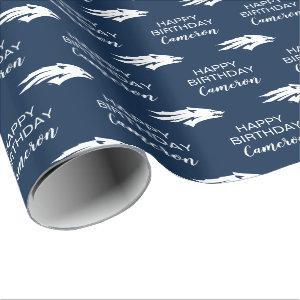 University of Nevada Wolf Logo Wrapping Paper