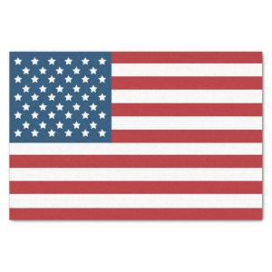 USA American Flag Stars and Stripes Tissue Paper