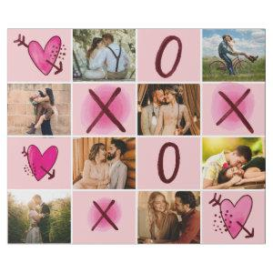 Valentine's Day XOXO Photo Collage Wrapping Paper