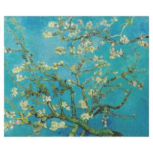 VAN GOGH ALMOND BLOSSOM IN CERULEAN DECOUPAGE WRAPPING PAPER