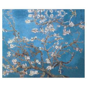 VAN GOGH ALMOND BLOSSOM IN LAPIS BLUE DECOUPAGE WRAPPING PAPER