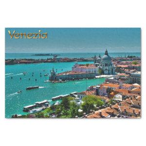 Venice, Italy - Aerial View Tissue Paper