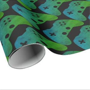 Video Game Controller Wrapping Paper