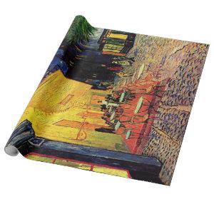 Vincent van Gogh Cafe Terrace on Place du Forum Wrapping Paper
