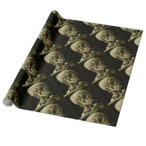 Vincent Van Gogh Head of A Skeleton with Cigarette Wrapping Paper