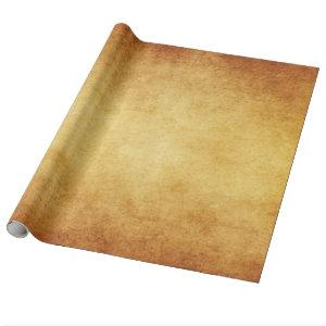 Vintage Aged Parchment Paper Template Blank