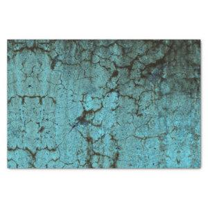 Vintage Antique Teal Green Texture Grunge Tissue Paper