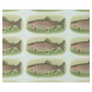 Vintage Rainbow Trout Wrapping Paper