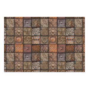 Vintage Tiles Wrapping Paper