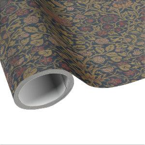 Vintage William Morris Violet and Columbine Wrapping Paper
