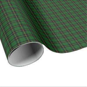 Wallace Clan Hunting Tartan Wrapping Paper