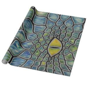 Water Dragon Wrapping Paper