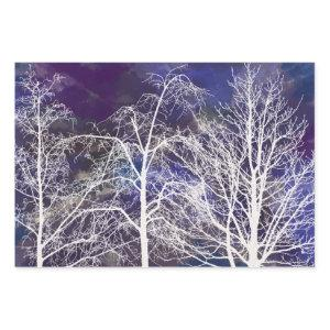 Watercolor Trees - Wrapping Paper Sheets