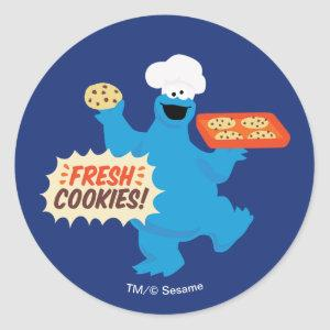 We Are Foodies | Fresh Cookies! Classic Round Sticker