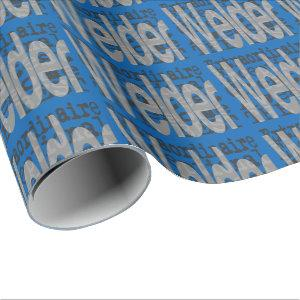 Welder Extraordinaire Wrapping Paper