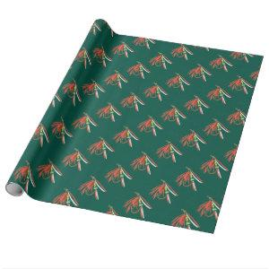 """""""Wet Fly"""" Trout Fly Wrapping Paper"""