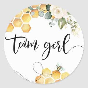 What will baby bee team girl stickers