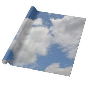 Whimsical Cloud Wrapping Paper
