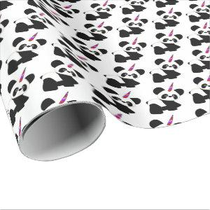 Who has Pandacorn wrapping paper? No one! Wrapping Paper