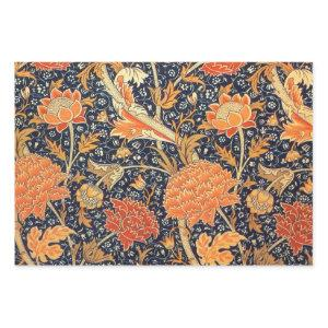William Morris Cray Floral Art Nouveau Pattern Wrapping Paper Sheets