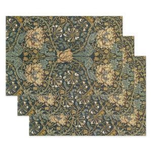 William Morris Design #7 Wrapping Paper Sheets